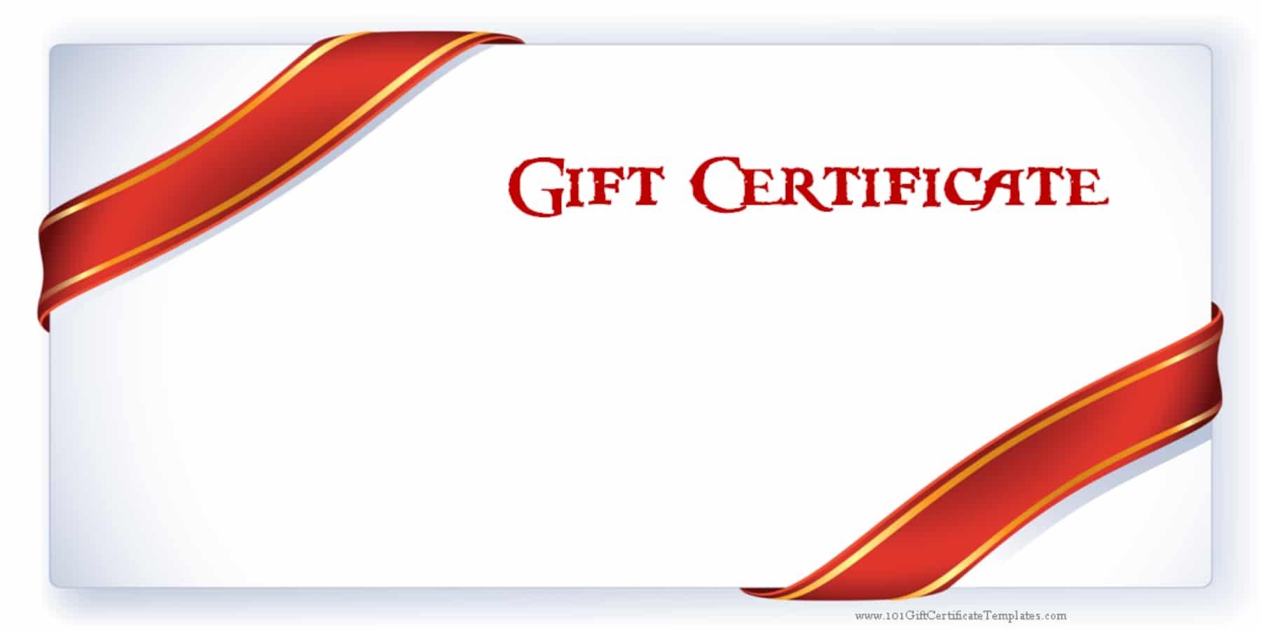 Gift Voucher Marine Aquatics - 100 gift certificate template